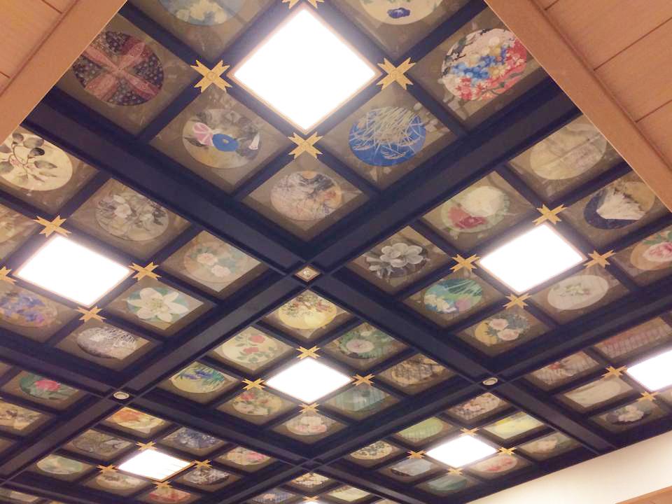 増上寺光摂殿の天井画